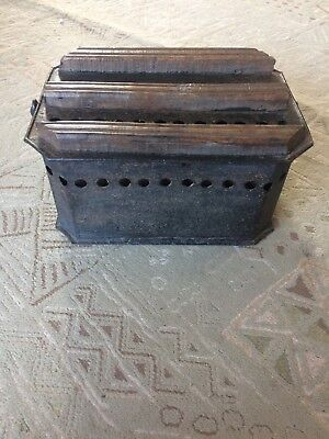 Antique 19th Century Carriage Foot Warmer