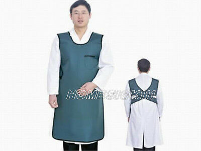SanYi Super-flexible X-Ray Protection Protective Lead Apron 0.35mmpb Blue Large
