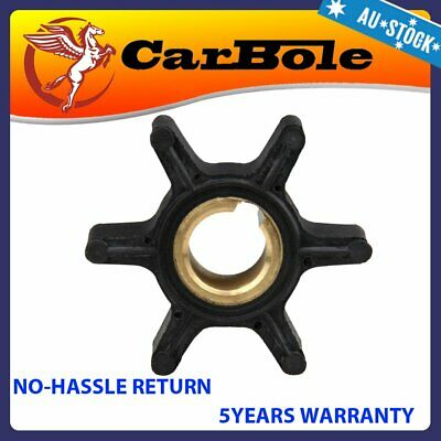 Water Pump Impeller For Johnson Evinrude OMC 2-6HP Outboard Motor 18-3090 387361