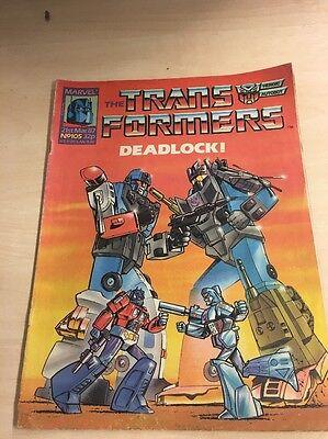 TRANSFORMERS #105 - 21st March 1987 - Marvel Comics Group UK