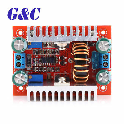 DC-DC Step Up Boost Converter Constant Current Power Supply 400W 15A LED Driver