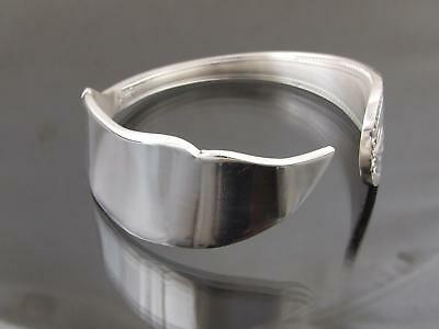 Silver Plated Fish Knife Bracelet Bangle Cuff Unusual Vintage Unique Cutlery