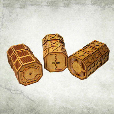 Imperial Armoured Containers Kromlech HDF Tabletop Scenics KRTS019