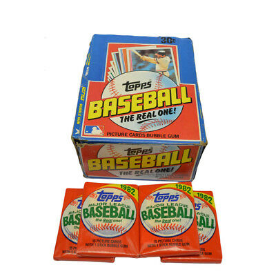 1982 Topps Baseball Unopened Wax pack    Ripken Rookie ?? GEM MINT 10  $1,499.00