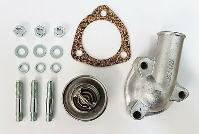MG Early MGB/ MGB GT Thermostat Kit - Thermostat, Housing, Seal Etc 1962-1967