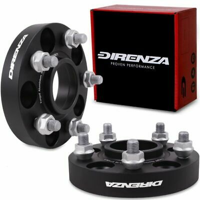 DIRENZA 5x114.3 25mm ALUMINIUM WHEEL SPACERS FOR MAZDA 3 5 6 MPS RX7 RX8 MX5 MX6