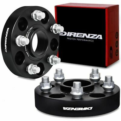 DIRENZA 4x100 30mm M12x1.5 HUBCENTRIC WHEEL SPACERS FOR HONDA ACCORD CIVIC CRX