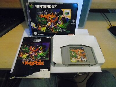 Banjo-Kazooie N64 Game {Boxed With Manual} Buy It Now.