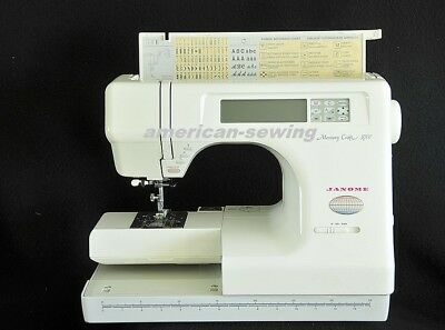DEMO- Janome Memory Craft  MC-5700 Sewing & Embroidery Machine w/ EXTRAS !