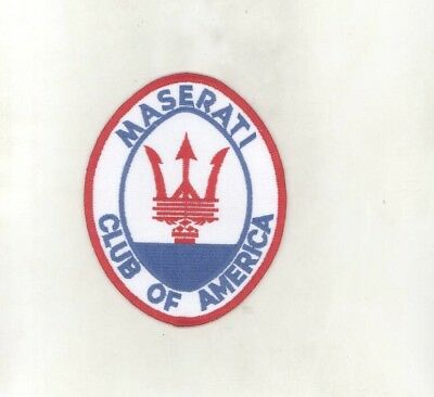 Maserati Club of America ORIGINAL Patch wz6830
