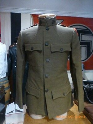 Original WW1 US Army  28th. Infantry Div. Tunic in used overall  good condition