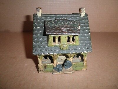 Great old original cast iron Bungalow Bank house still bank 1918 - 1928