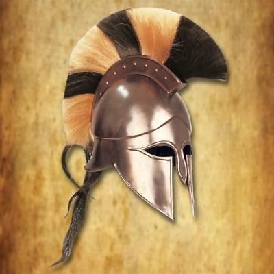 Medieval Wearable Greek Corinthian Helmet Free Leather Liner Knight helmet