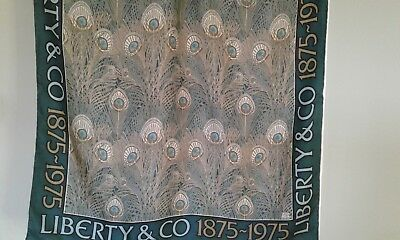 Liberty Lovely Classic  Vintage Silk Scarf - Vibrant Hera Design