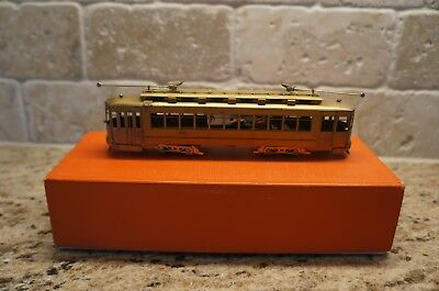 Fairfield Traction HO Brass Chicago Surface Lines Pullman Trolley streetcar