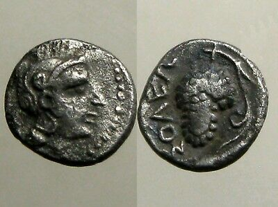 SOLOI CILICIA SILVER OBOL___Ancient Greece___DESTROYED IN THE 1ST CENTURY BC