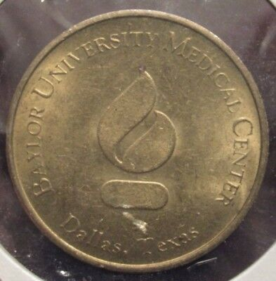 Vintage Baylor University Medical Center Dallas, TX Token - Texas