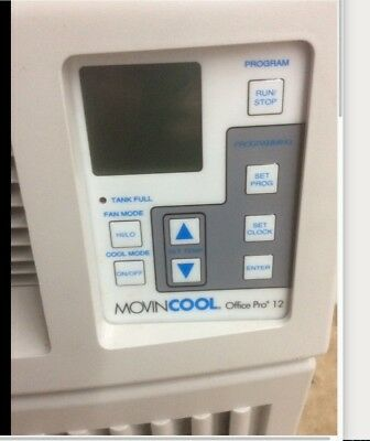 Movincool Office Pro 12 Portable Air Conditioner 115V 11,400 Btu Barely Used