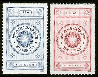 #5062-5063 2016 World Stamp Show, Singles, Mint ANY 4=