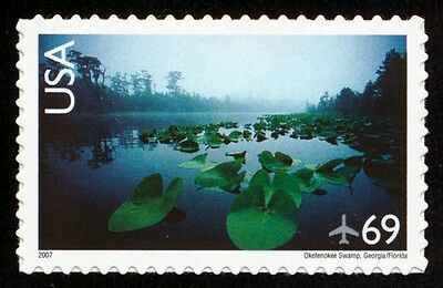#C142 69c Okefenokee Swamp, Mint ANY 4=