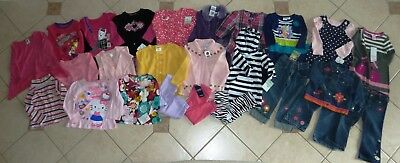 Gymboree Gap Carter's Chaps Crazy 8 Girls Fall Winter Lot 18 24 2 2T Most NWT