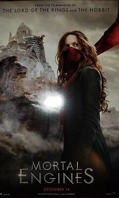 NYCC 2018 Mortal Engines Hera Hilmar 11x17 Promo Poster Brand New Condition Mint
