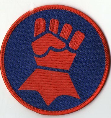Patch Warhammer Crimson Fist Fists Of The Emperor 9 Cms Patch