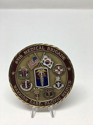 K5 United States US Army 65th Medical Brigade 2010 Large Challenge Coin