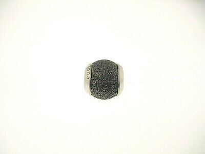 """Persona Sterling Silver """"Grey Moonlit Sands"""" Bead Charm H12206P1-02"""
