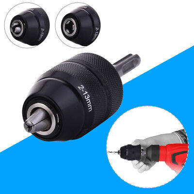 Professional Heavy Duty 13MM Keyless Drill Chuck With SDS Adaptor Driller Fit UK