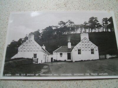 Postcard - Old Smithy of Berriedale Hill - Caithness - Scotland