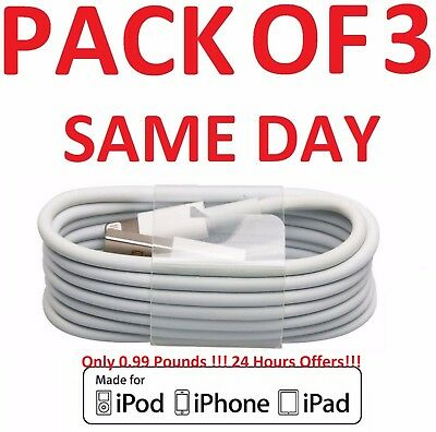USB Lightning Charger & Data Sync Cable Lead For Apple iPhone 5 5s 5c 6 7 8 Plus