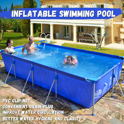 Outdoor Large Inflatable Swimming Paddling Lounge Pool Family Garden Summer Pool