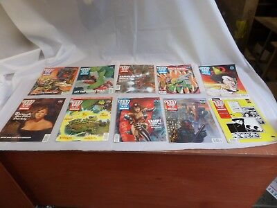 Job Lot Off 10 Early  2000 Ad Featuring Judge Dredd Comics 755 To 764