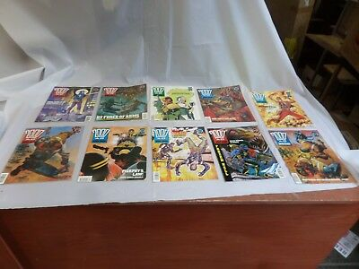 Job Lot Off 10 Early  2000 Ad Featuring Judge Dredd Comics 725 To 734