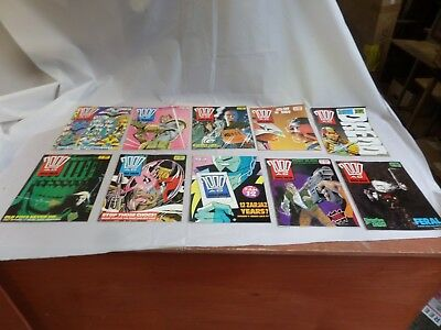 Job Lot Off 10 Early  2000 Ad Featuring Judge Dredd Comics 608 To 617