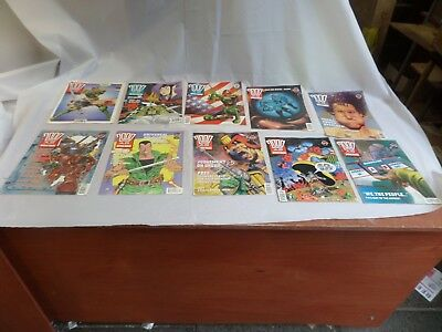 Job Lot Off 10 Early  2000 Ad Featuring Judge Dredd Comics 745 To 754