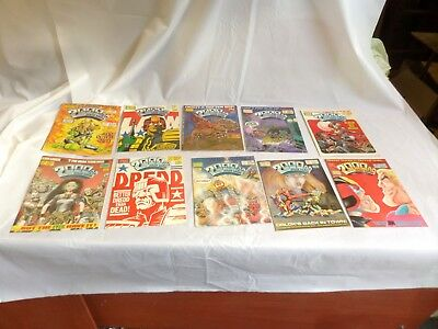 Job Lot Off 10 Early  2000 Ad Featuring Judge Dredd Comics 521 To 530