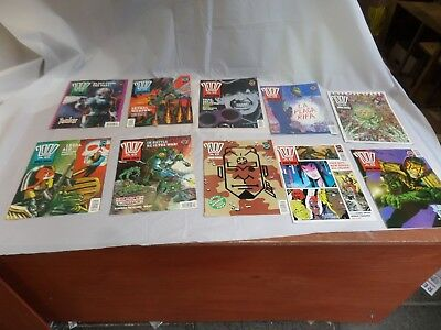 Job Lot Off 10 Early  2000 Ad Featuring Judge Dredd Comics 715 To 724