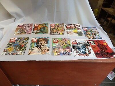 Job Lot Off 10 Early  2000 Ad Featuring Judge Dredd Comics 735 To 744