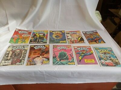 Job Lot Off 10 Early  2000 Ad Featuring Judge Dredd Comics 541 To 550