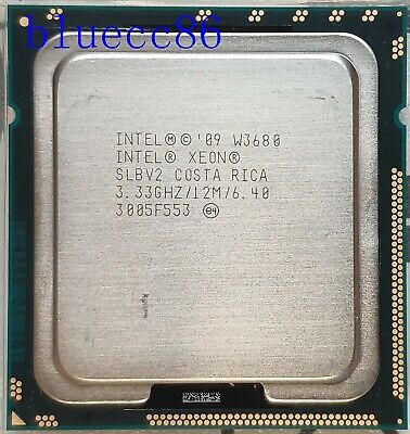 Intel Xeon W3680 3.33GHz Six Core 3200MHz LGA 1366 CPU Processor