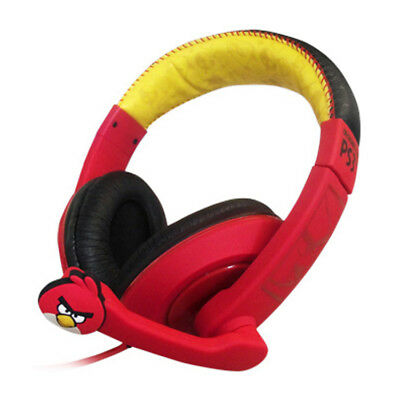 Angry Birds PS3 Deluxe Gaming Headset Ear Piece Microphone Headphone Playstation