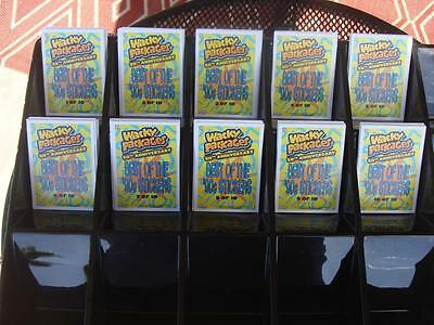 2017 WACKY PACKAGES 50TH ANNIVERSARY CHASE SET BEST OF 90's ALL 10 FAT PACK SET