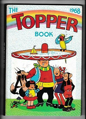 The Topper Book 1968 Not Written In Not Clipped In Fine Condition