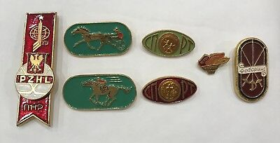 Russian / Soviet Sports Badges / Pins - World Hockey - Goodwill Games - USSR