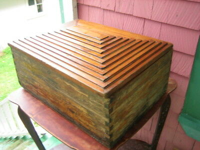 Homemade wooden chest 23'' X 17'' X 9''