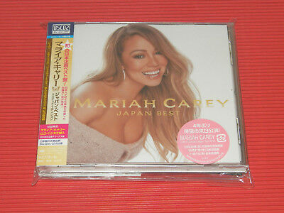2018 Japan Tour Edition Mariah Carey Japan Best  Blu-Spec Cd With Handkerchief