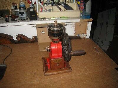 Vintage Cast Iron Mr Dudley International Coffee Grinder