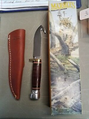 Marbles Knife with guthook blade